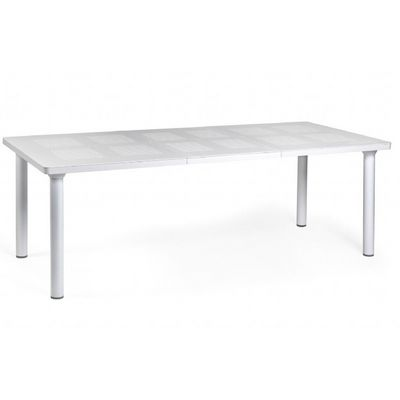 Libeccio Resin Rectangle Outdoor Extension Dining Table 86 inch NR-47553