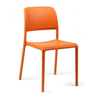 Riva Bistrot Resin Outdoor Chair Orange NR-40247