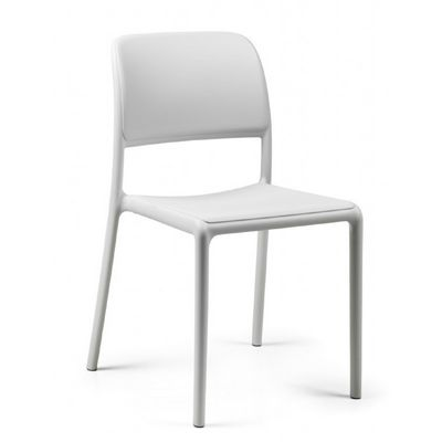 Riva Bistrot Resin Outdoor Chair White NR-40247