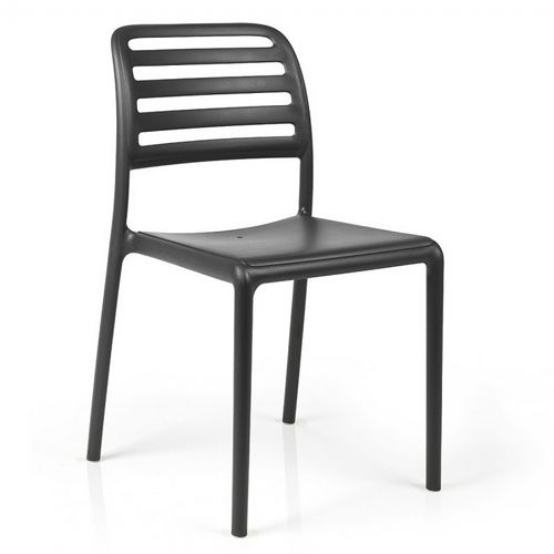 Costa Bistrot Resin Outdoor Chair Antracite NR-40245-02