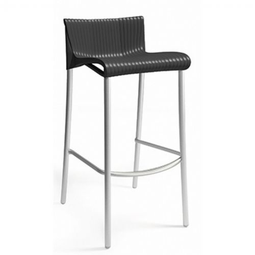 Duca Outdoor Bar Chair Antracite NR-75254-02