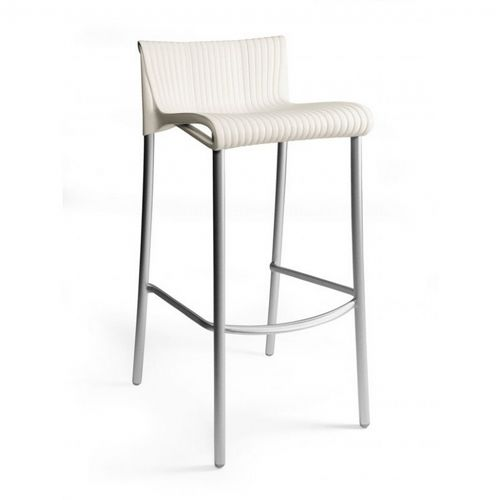 Duca Outdoor Bar Chair Ivory NR-75254-28