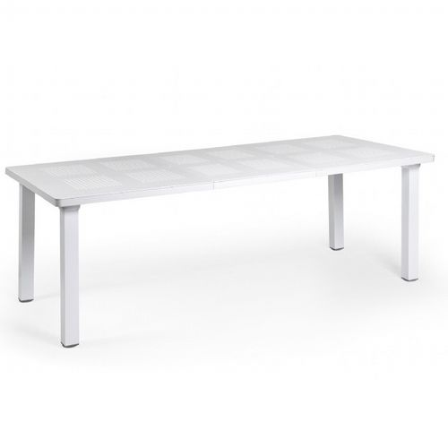 Levante Resin Rectangle Outdoor Extension Dining Table 86 inch NR-47053-00
