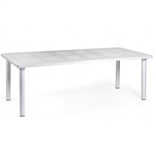 Libeccio Resin Rectangle Outdoor Extension Dining Table 86 inch NR-47553-00