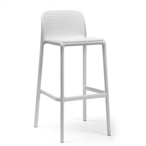 Admirable Lido Resin Outdoor Bar Stool White Bralicious Painted Fabric Chair Ideas Braliciousco