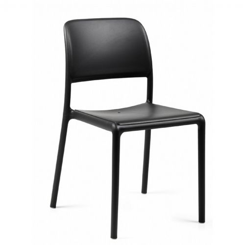 Riva Bistrot Resin Outdoor Chair Anthracite NR-40247-02