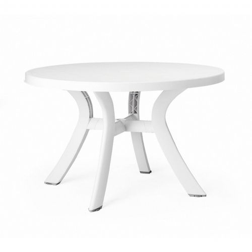 Toscana Round Dining Table 47 inch White NR-40123-00