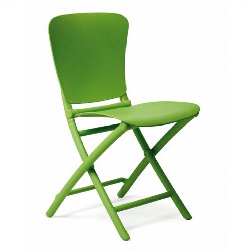 Zac Classic Resin Folding Dining Chair Lime Green NR-40324