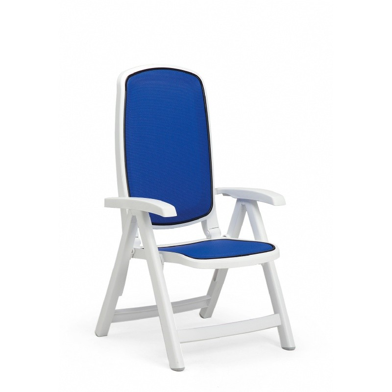 Outdoor Folding Dish Chair: Nardi Delta Folding Sling Chair