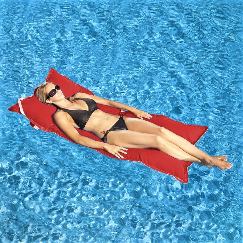 Canvas Pool Floats: Kai Infinity Water Lounger Float