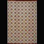 Outdoor Carpet Mat 4' x 6' Scotch Teal-Brown MMSCO46TB