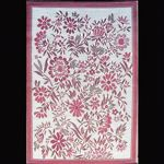 Outdoor Carpet Mat 4' x 6' Wildflower Cranberry MMWIL46CY