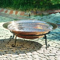 "Copper Fire Pit 30"" Medium UM88002"