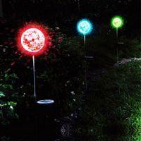 Glow Crystal Solar Garden Lamp P1038Q