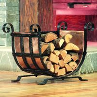 Log Holder - Copper Wood Holder U75106