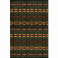 Outdoor Carpet Mat 4×6 Moroccan Forest MMMOR46FO