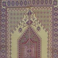 Outdoor Mat 6' × 9' Oriental Turkish Plum MMOTU69YP