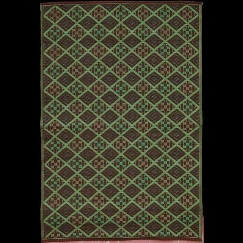 Outdoor Carpet Mat 4' × 6' Scotch Dark Green MMSCO46DG