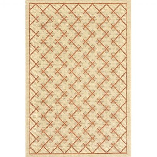 Sisal Design 8 10 Outdoor Rug Cream Brown Or724 12 8x10 Cozydays
