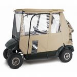 Deluxe 3-Sided Golf Car Enclosure