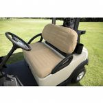Golf Car Padded Seat Cover Sand CAX-72612