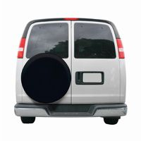 Custom Fit Spare Tire Cover 27 inch Black CAX-80-204-170402-00