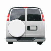 Custom Fit Spare Tire Cover 27 inch White CAX-75130