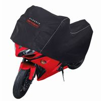 Deluxe Motorcycle Sport Cover Black CAX-73867