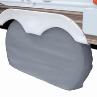 Dual Axle Wheel Cover Gray Small CAX-80-107-021001-00