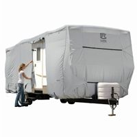 PermaPRO Travel Trailer Cover Gray Fits up to 22'-24'L CAX-80-136-161001-00