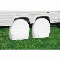 RV Wheel Covers White Large CAX-76260