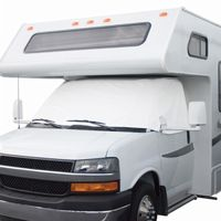 RV Windshield Cover White Large CAX-78634