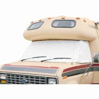 RV Windshield Cover White Medium CAX-78684