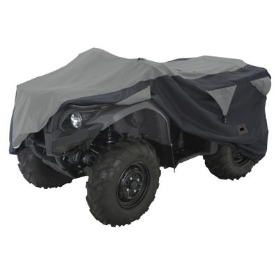 ATV Deluxe Storage Cover Black/Gray Large CAX-15-061-043804-00