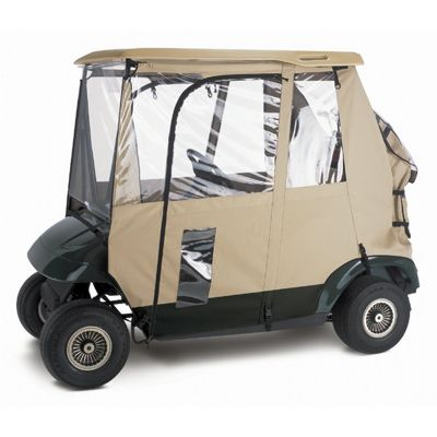Deluxe 3-Sided Golf Car Enclosure CAX-72042