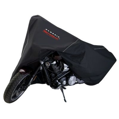Deluxe Motorcycle Cruiser Cover Black CAX-73877
