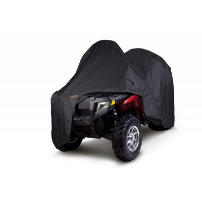 Expandable 1 or 2-Up ATV Cover Black CAX-15-017-010401-00