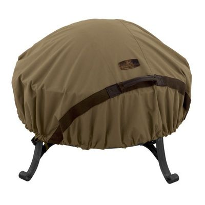Hickory Fire Pit Cover Round Medium CAX-55-198-012401-EC