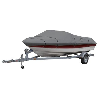 "Lunex RS-1 Boat Cover Gray 14-16 ft. Beam Width 75"" CAX-20-140-081001-00"