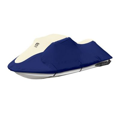 Lunex RS-2 Personal Watercraft Cover Linen/Navy Large CAX-20-211-044601-00