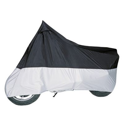 Motorcycle Cover Black/Silver up to 1500CC CAX-65-017-053801-00