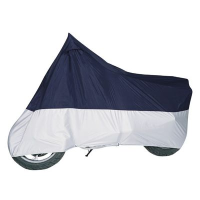Motorcycle Cover Blue/Silver up to 1100CC CAX-65-005-033501-00