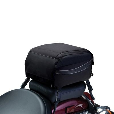 Motorcycle Tail Bag Black CAX-73727