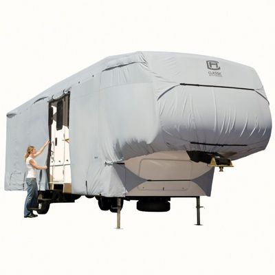 PermaPRO Fifth Wheel Cover Gray 26-29 ft. CAX-80-123-161001-00