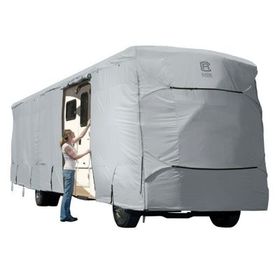 PermaPro Class A RV Cover Gray X-Tall Fits 33-37 ft. CAX-80-183-191001-00
