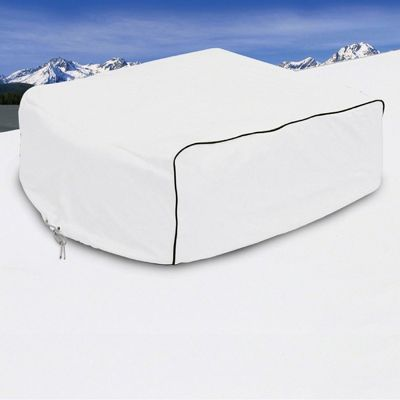 RV Air Conditioner Cover White Small CAX-77410