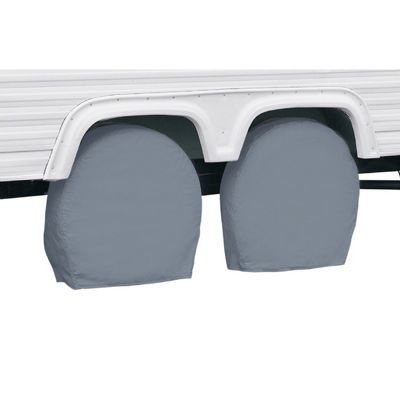 RV Wheel Covers Gray Medium CAX-80-084-161001-00