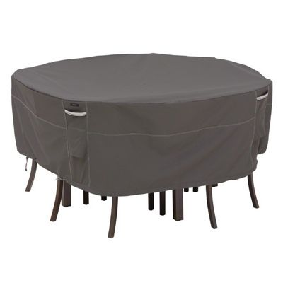 Ravenna Patio Table and Chair Round Cover Medium CAX-55-157-035101-EC