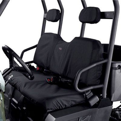 UTV Bench Seat Cover Black Polaris Ranger XP/HD CAX-18-026-010401-00
