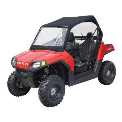 UTV Roll Cage Top with Front & Rear Windows Black CAX-18-010-010401-SC